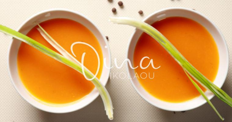 Kolokithosoupa – Soupe de potiron au fenouil