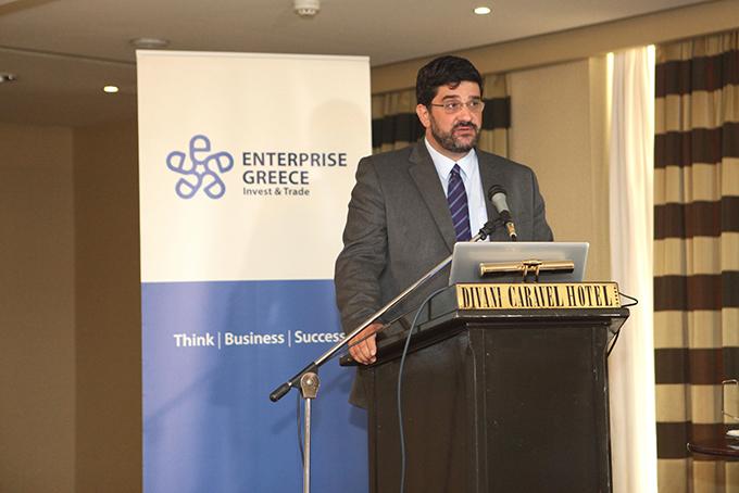 O Διευθύνων Σύμβουλος της Enterprise Greece, κ. Βελισσάριος Δότσης