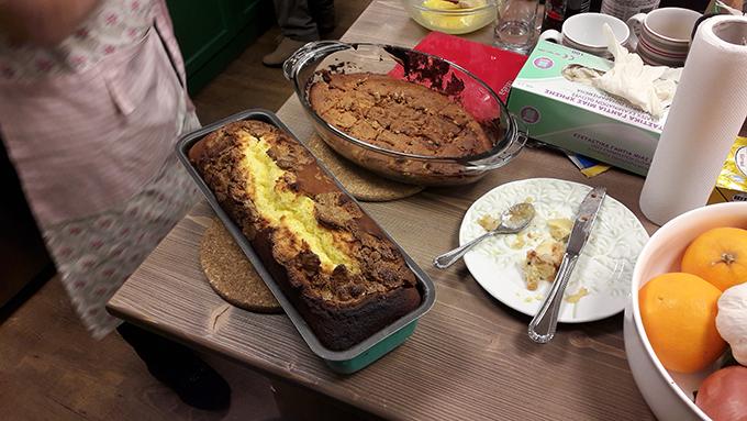 Κέικ γεμιστό με φυστικοβούτυρο...