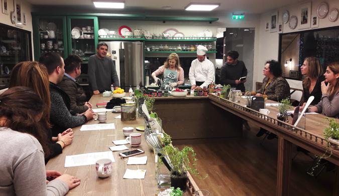 Τα μαγικά ταξίδια στο Yoleni's Cooking Classes by Dina Nikolaou συνεχίζονται…