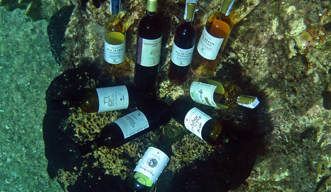 ΚΑΘΑΡΑ ΔΕΥΤΕΡΑ με σαμιώτικα κρασιά