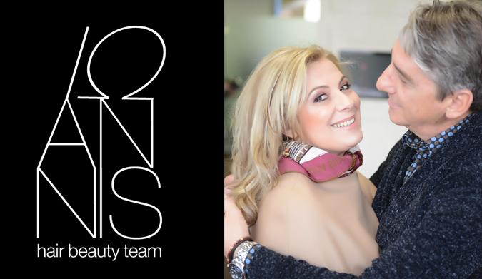 Μια μέρα με πολύ contouring στο ioannis hair & beauty team!