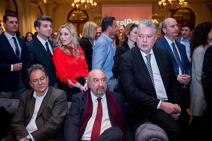 Ο πρ. Υφυπουργός Τουρισμού κος Γιώργος Νικητιάδης, o κος Ηλίας Κικίλιας, Πρόεδρος του ΙΝΣΕΤΕ και ο κος Γιώργος  Αμβράζης, Γενικός Διευθυντής του ΣΕΤΕ