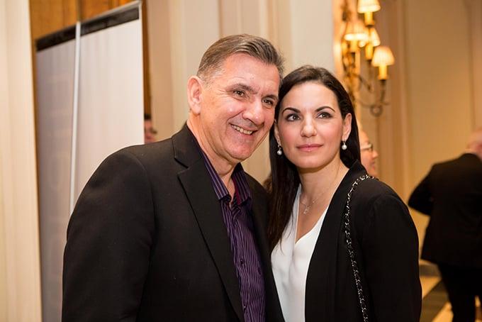 Ο δημοσιογράφος Γιώργος Θαναηλάκης με την πρ. Υπουργό Τουρισμού κα Όλγα Κεφαλογιάννη