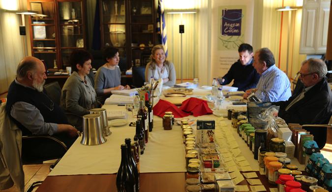 Ολοκληρώθηκε ο Α' κύκλος αξιολόγησης Kυκλαδίτικων προϊόντων και θα προτείνονται στο δίκτυο Aegean Cuisine