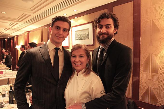 Με τους άντρες της ζωής μου... Γιώργο & Στέλιο Γρηγοριάδη.
