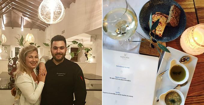 Παρέα με τον ταλαντούχο σεφ των Eagles Villas, Διονύση Ζαχαρόπουλο.