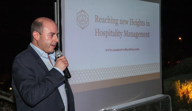 Εκδήλωση για το ινστιτούτο της Glion και της Les Roches Global Hospitality Education