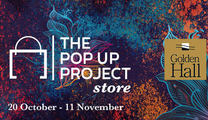 0/10-11/11: The Pop Up Project Goes To Golden Hall!