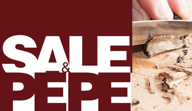 Η Λευκή & Μαύρη τρούφα πρωταγωνιστούν για ακόμη μια χρονιά στο SALE & PEPE!