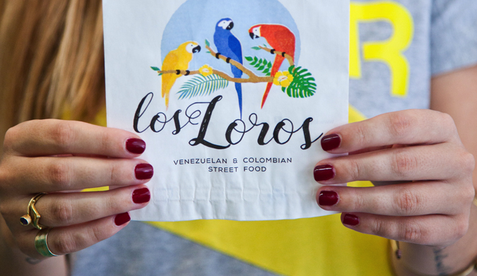 Los Loros: Μία νόστιμη σύμπραξη Βενεζουέλας Κολομβίας στο κέντρο της Αθήνας