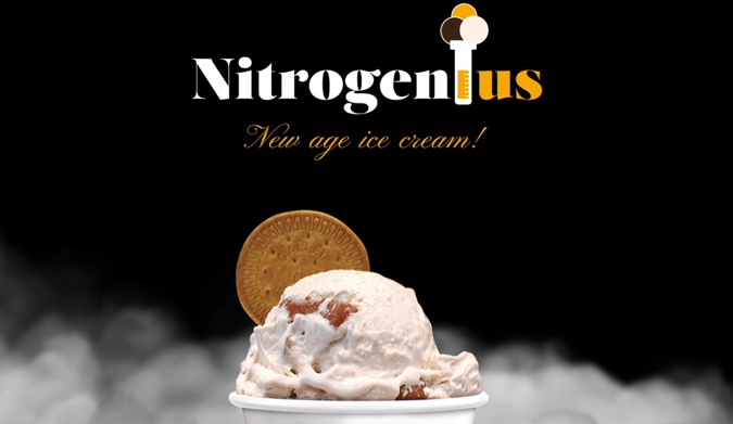NitroGenius project! Η Bufala Gelato δημιουργεί το new-age ice cream!
