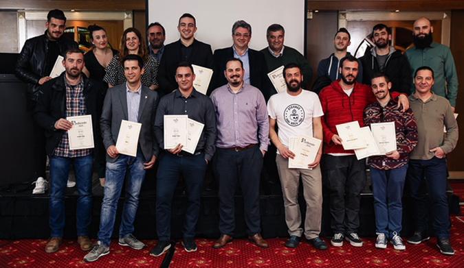 4 Βραβεία για την Ελληνική Ζυθοποιία Αταλάντης στα BeerBartender Awards