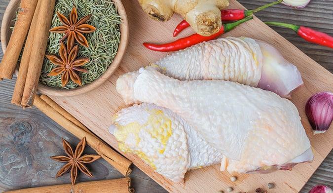 Επιλέξτε κοτόπουλο ταϊσμένο με 100% φυτικές τροφές