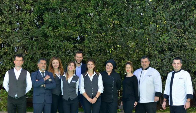 Το Στάχυ Catering Services με την αξιοπιστία του ELEFSINA HOTEL