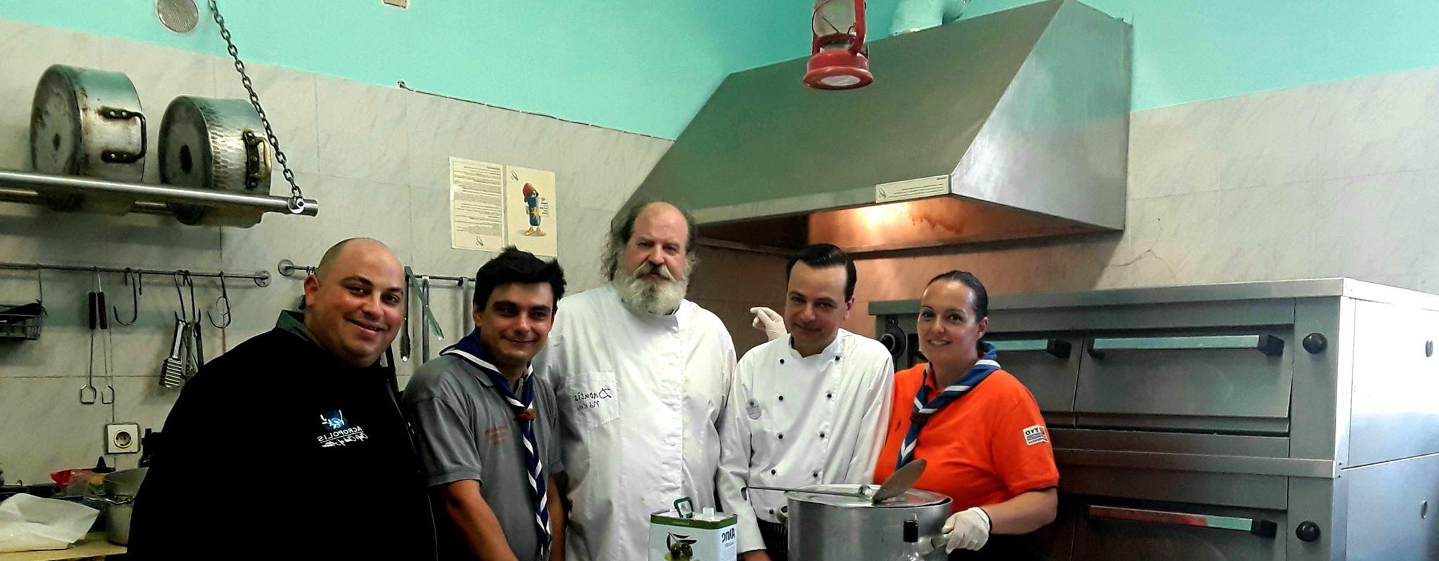 Εθελοντικό Μαγείρεμα για τους Πυρόπληκτους