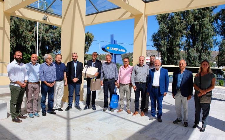 Η ΑΝΕΚ LINES πρέσβειρα του ελληνικού πολιτισμού, του τουρισμού & της γαστρονομίας