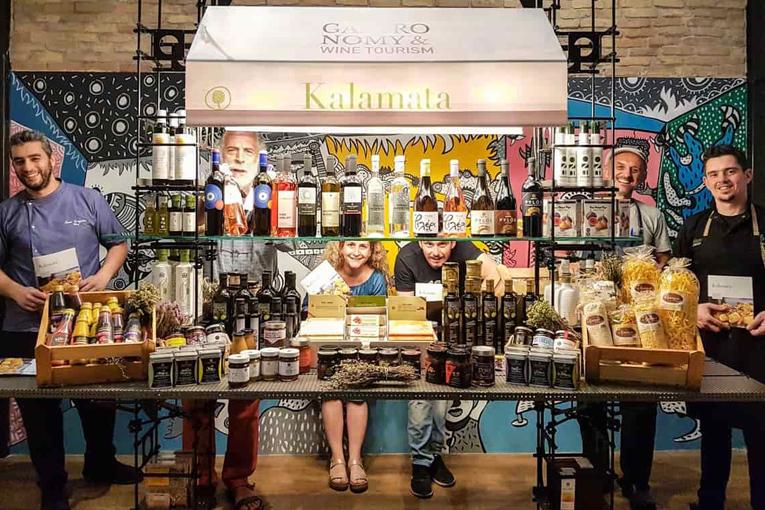 • Gastronomy & Wine Tourism   H Γαστρονομική Κοινότητα Καλαμάτας στο Yoleni's