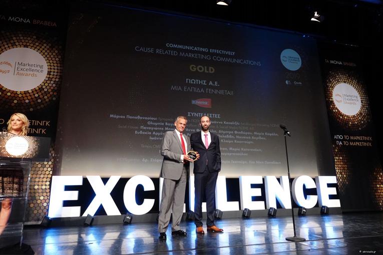 Τέσσερα νέα σημαντικά βραβεία για τη ΓΙΩΤΗΣ Α.Ε. στα Μarketing Excellence Awards 2019