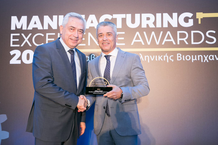 Χρυσή Διάκριση Περιβαλλοντικής Διαχείρισης για τη Barilla Hellas στα Manufacturing Excellence Awards 2019