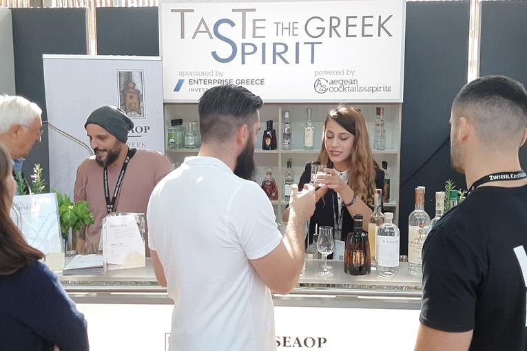 Τα ελληνικά αποστάγματα, στο BCB τo μεγαλύτερο bar show στον Κόσμο-Taste the Greek Spirit