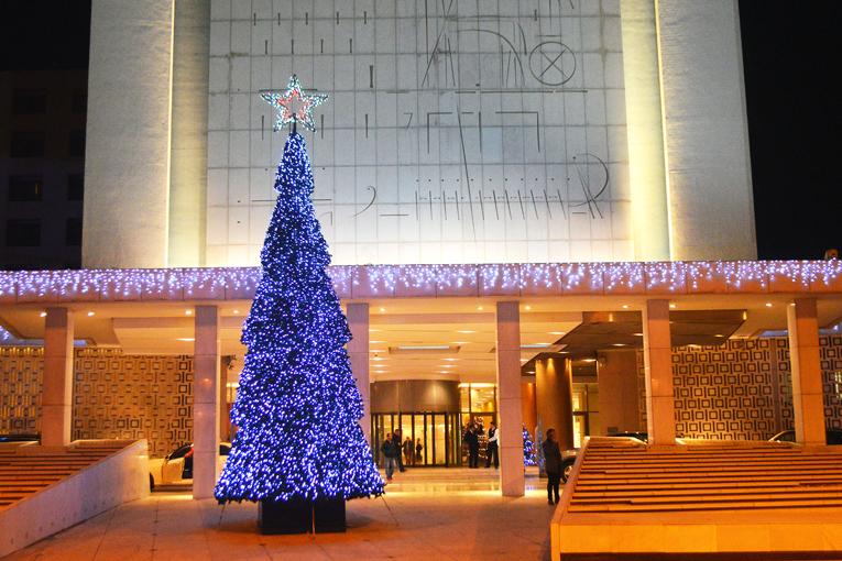 Χριστούγεννα στο Hilton Αθηνών