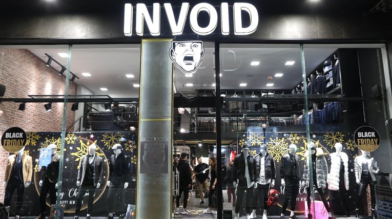 "To ""Invoid Fashion Store"" γιόρτασε τον ένα χρόνο λειτουργίας του με ένα μοναδικό anniversary party!"