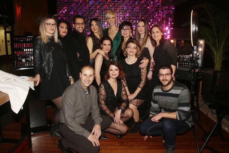 Εντυπωσιακό launch party για τη νέα σειρά μακιγιάζ της Semilac που παρουσιάζεται πρώτη φορά στην Ελλάδα