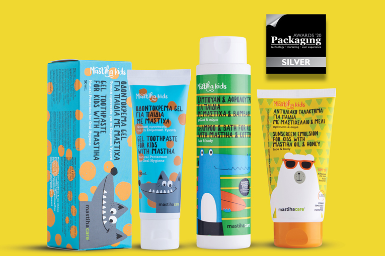 mastihashop – 2 βραβεία στα Packaging Awards