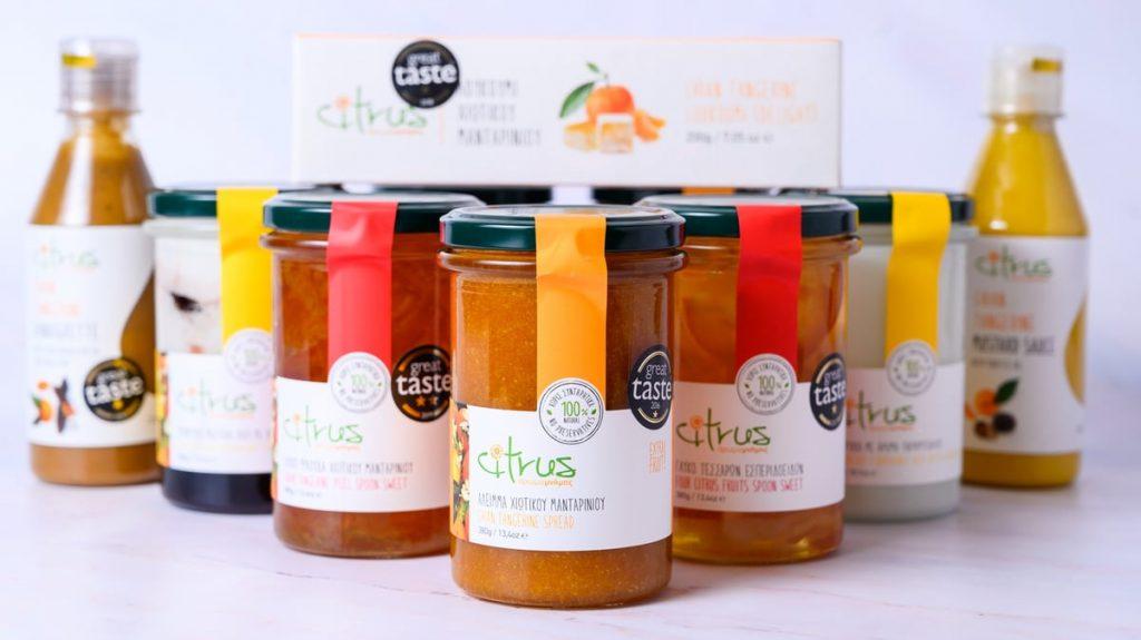 Τα βραβευμένα παραδοσιακά προϊόντα CITRUS στη WOLT